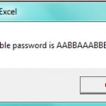 How to Recover Lost Excel Passwords